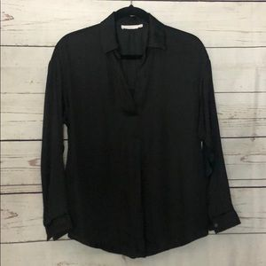 Lush Black XS blouse